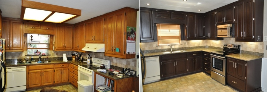 Delicieux Cabinet Refinishing